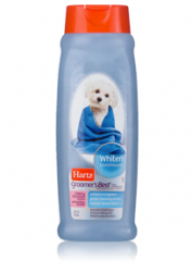 Шампунь для собак со светлой шерстью Hartz Groomer's Best Whitener Shampoo for Dogs, 532 мл