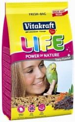 Основной корм для волнистых попугаев Vitakraft Life Power Nature 0,8 кг